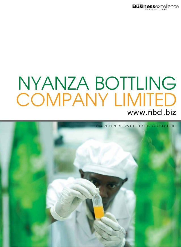 Businessexcellence                          ACHIEVING                                      O N L I N ENyanza BottlingCompa...