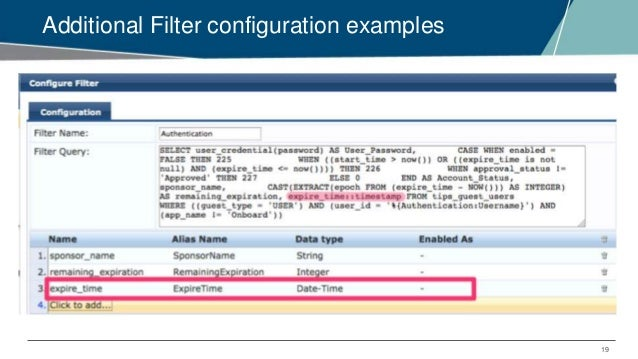Clearpass Authentication Source Attributes   Condorito