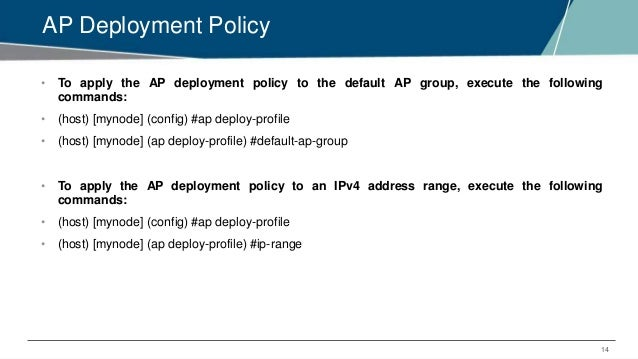 EMEA Airheads - AP Discovery Logic and AP Deployment