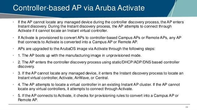 EMEA Airheads - AP Discovery Logic and AP Deployment