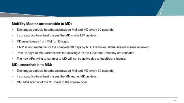 EMEA Airheads How licensing works in Aruba OS 8 x