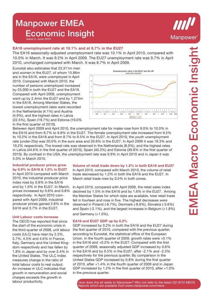 Manpower EMEA    Economic Insight          Issue 3. June 2010                                                             ...