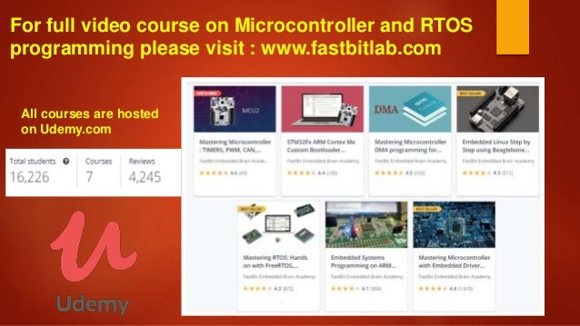 Udemy Microcontrollers Course