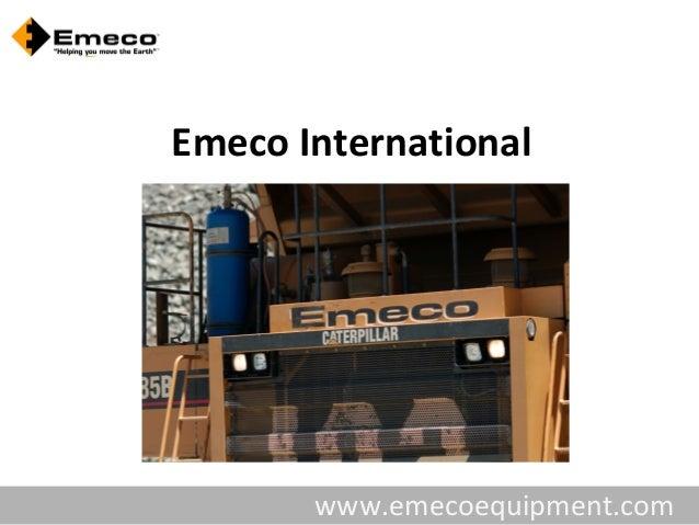 Emeco International       www.emecoequipment.com