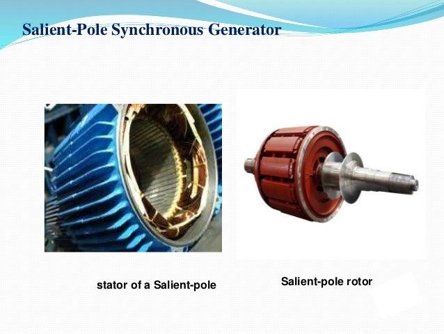 Salient-Pole Synchronous Generator Salient-pole rotorstator of a Salient-pole