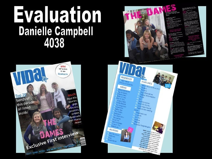 Danielle Campbell 4038 Evaluation