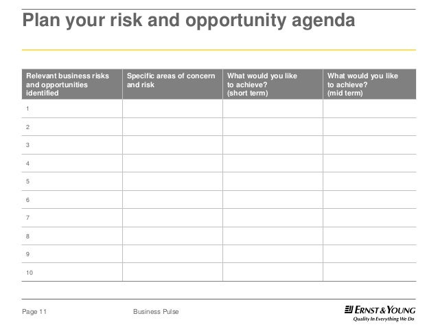 Assess Opportunities and Risks to Maximize Projects
