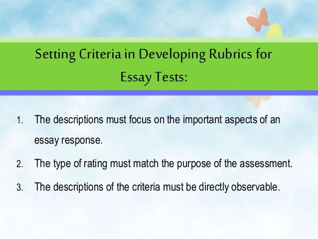 Thesis paper requirements