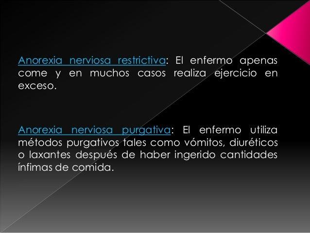 1 Coacción publicitaria2 Mercado del adelgazamiento3 Difusión del estereotipo de delgadez4 Difusión de páginas pro– anorex...