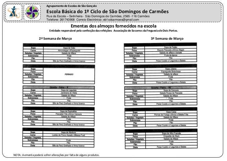 Agrupamento de Escolas de São Gonçalo                          Escola Básica do 1º Ciclo de São Domingos de Carmões       ...