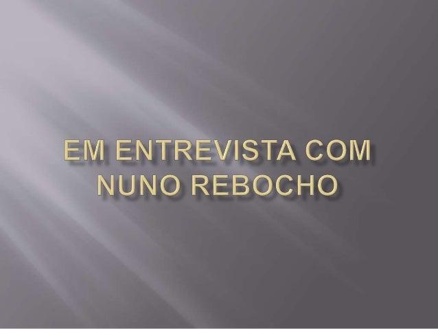 Eu e a minha parceira de negócios Marina em entrevista com Nuno Rebocho!
