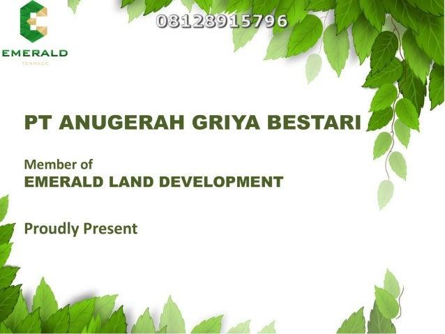 Emerald Terrace Jatiasih 08128915796 Bekasi