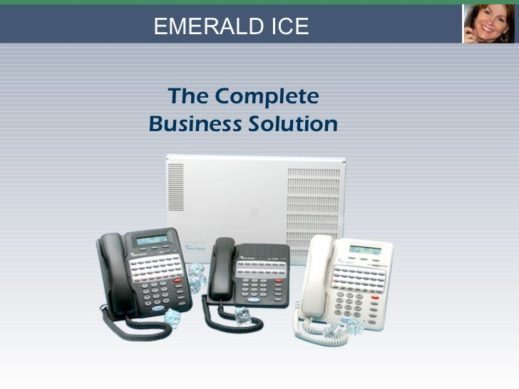 EMERALD ICE The Complete Business Solution