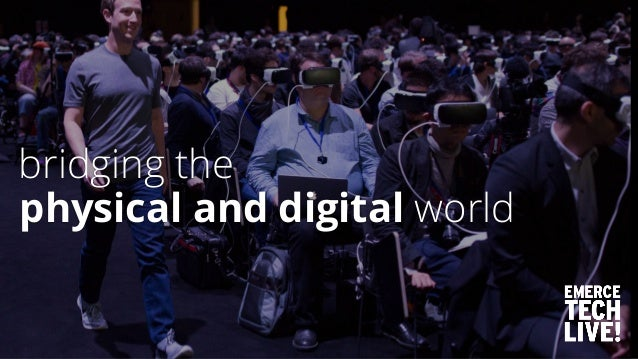 physical and digital world bridging the