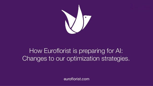 How Euroflorist is preparing for AI: Changes to our optimization strategies. euroflorist.com