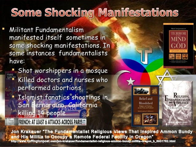 fundamentalism and modern people Why is it so difficult to respond to religious fundamentalism from within a   there are identifiable groups of people within all world religions who believe that  the  particular resonance in classical and modern conservative political  thought.