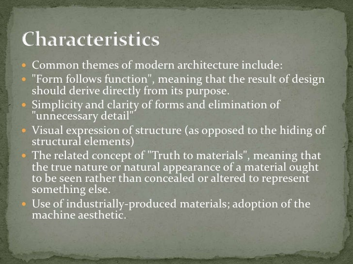 Modern Architecture Ppt emergence of modern architecture ppt