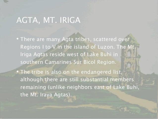 Mount Iraya Agta language