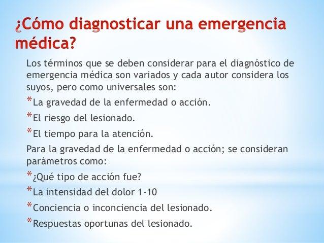 Las emergencias médicas tiene diferentes tipos y clasificaciones pero están relacionadas entre sí ya que pueden ser clasif...