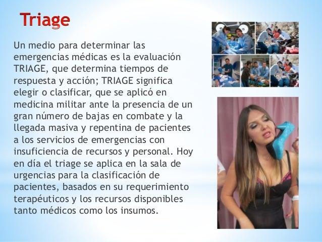 *Nivel 1 (Rojo): Paciente que necesita atención inmediata, ya que su estado es muy crítico. *Nivel 2 (Naranja): Es un cuad...