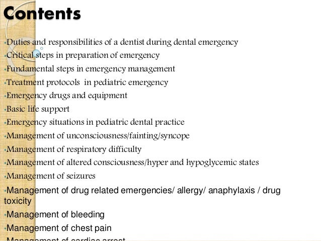2 contents duties and responsibilities of a dentist - Dentist Duties And Responsibilities