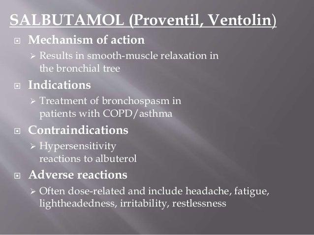 Albuterol Contraindications Heart Rate