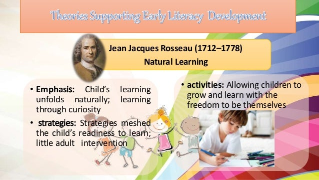 Emergent Literacy And Theories Of Learning Cb On Reading Readiness