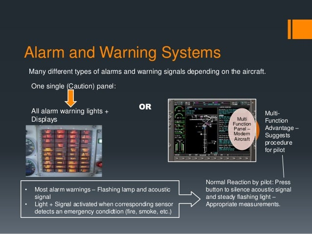 Emergency Systems In Aircraft