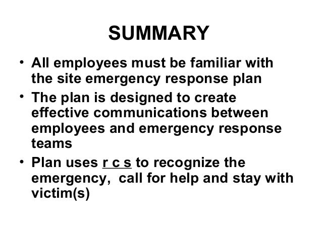 Emergency Action Plan by NOAO