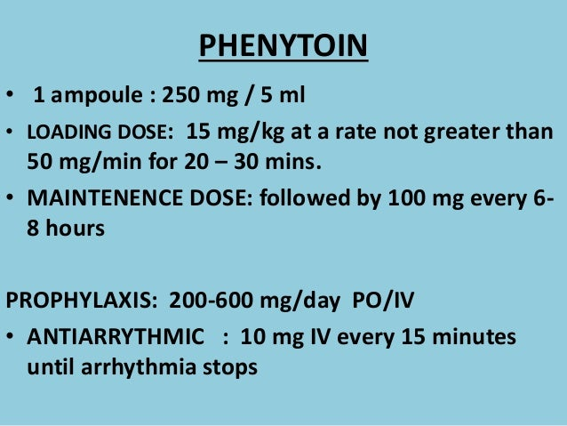 Iv To Po Conversion Chart Phenytoin