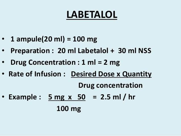 Labetalol Discount