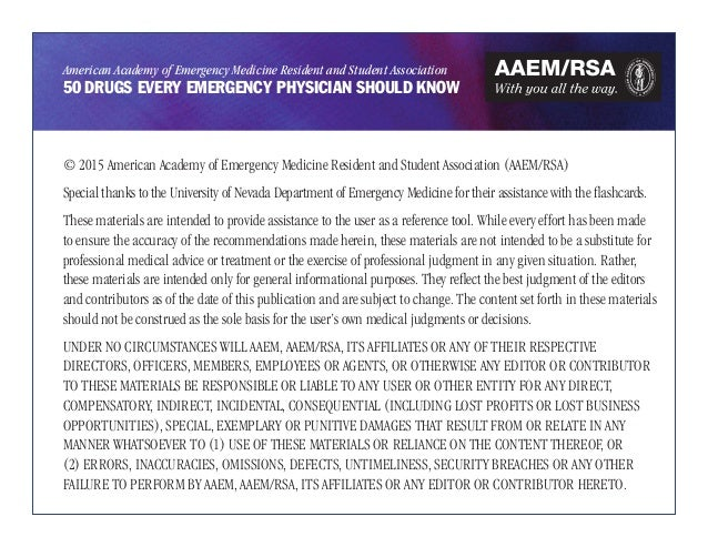 Emergency drugs Slide 2