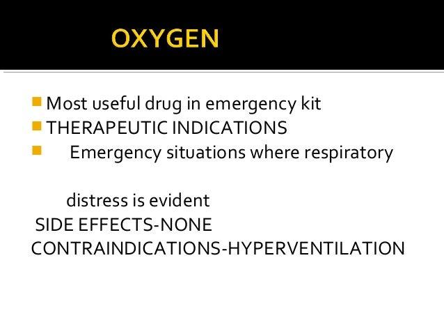Emergency drugs used in dental office