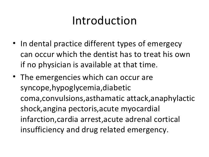 emergency drugs in dentistry pdf