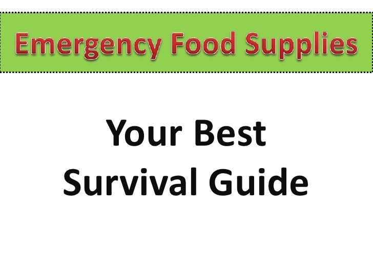 Your BestSurvival Guide