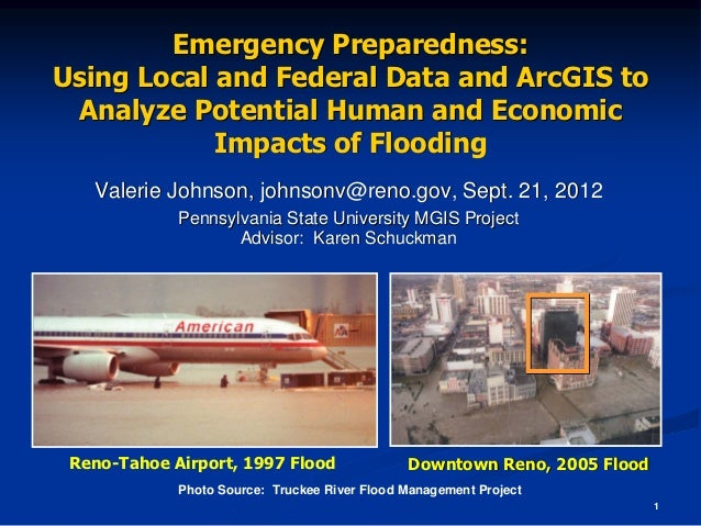 Emergency Preparedness:Using Local and Federal Data and ArcGIS to Analyze Potential Human and Economic            Impacts ...