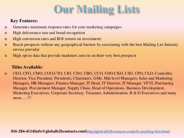 Emergency medicine specia lists email list helps you to promote the brand in the best attractive manner Slide 3
