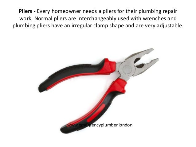 10 Plumbing Tools Every Homeowner Should Have