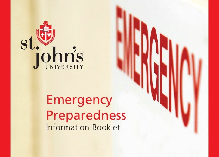 EmergencyPreparednessInformation Booklet