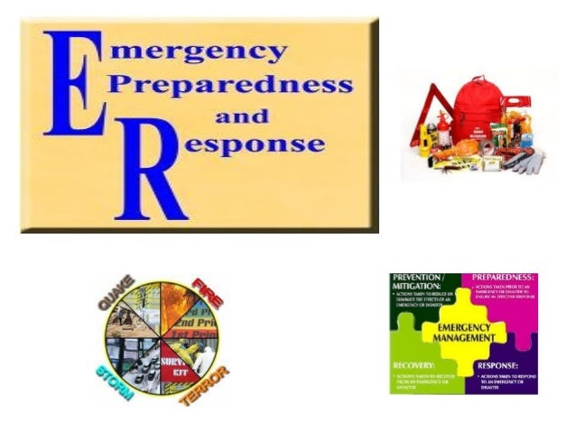Emergency preparedness seminar