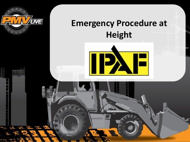 1 Emergency Procedure at Height LOGO