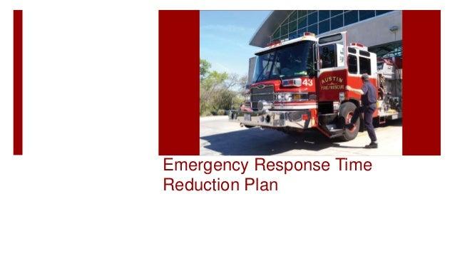 Emergency Response Time Reduction Plan