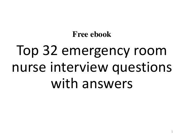 Emergency room description essay