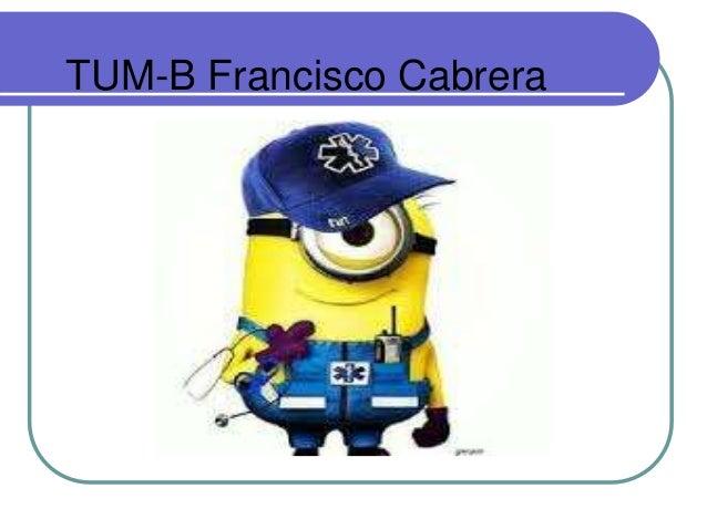 TUM-B Francisco Cabrera
