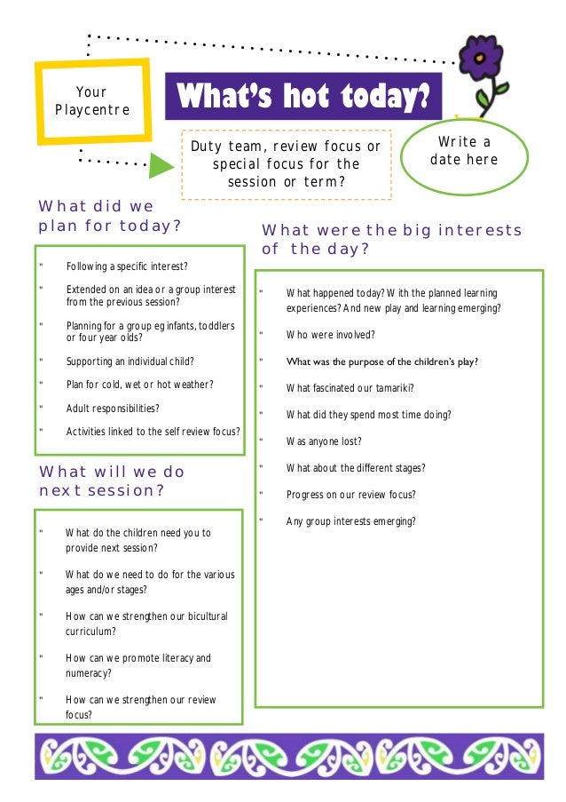 emergent curriculum planning template - emergent curriculum planning sheet