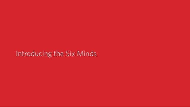 Introducing the Six Minds