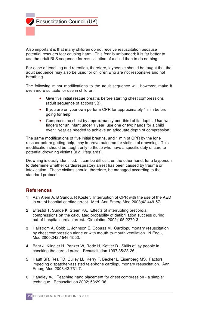 australian resuscitation council guidelines vf