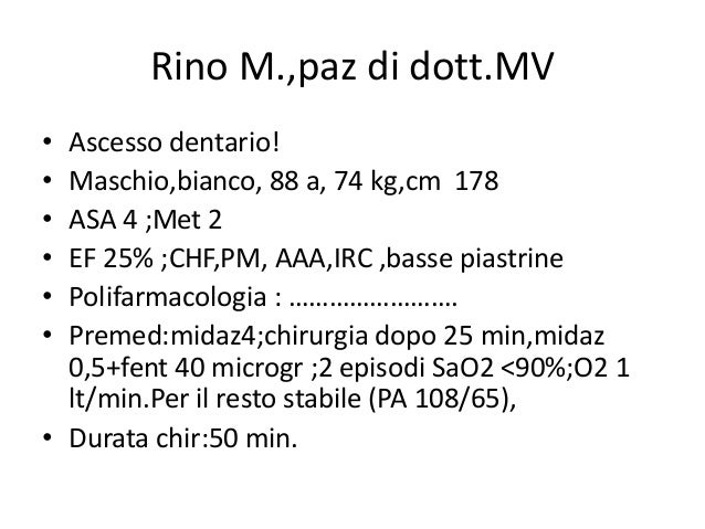 Emergenze in odonto per lecture emergencirs in the dental for Diovan 160 cm