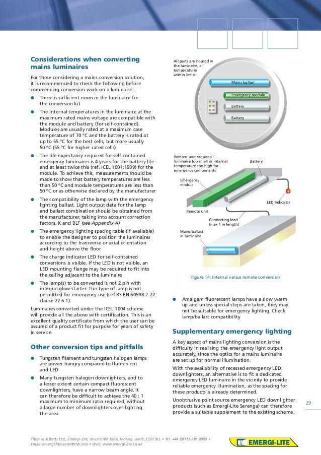 sc 1 st  SlideShare & Emergi lite emergency lighting design guide azcodes.com