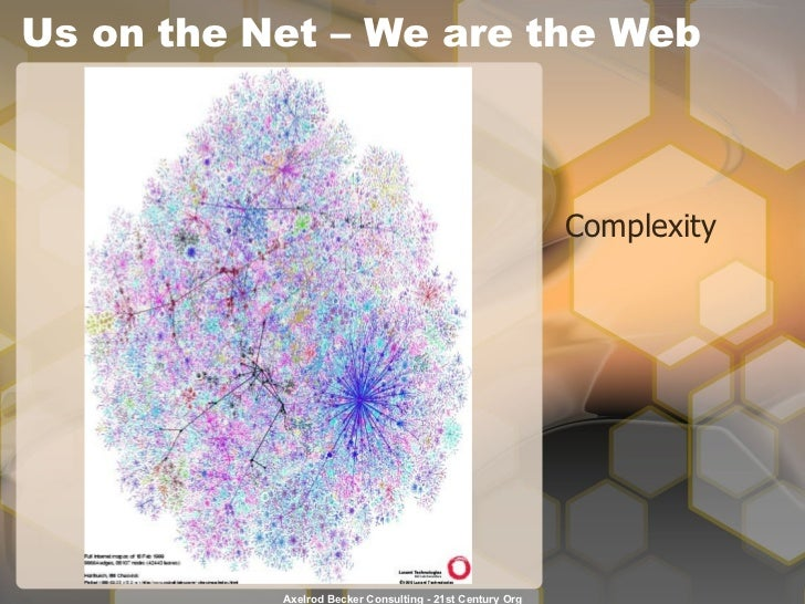 Us on the Net – We are the Web Complexity